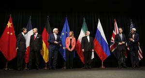 Les signataires du JCPOA en 2015.