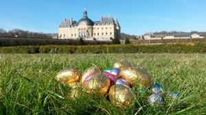 Du 20 au 22 avril, la plus grande chasse aux œufs de France, sept chasses par jour, au château de Vaux-le-Vicomte (77).