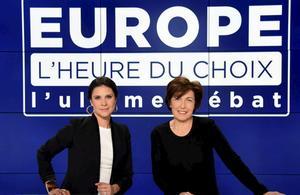 Dernier débat des européennes sur BFMTV