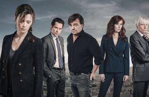 Engrenages: la saison 8 en tournage