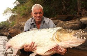 Jeremy Wade, «en eaux troubles» pour Discovery Channel