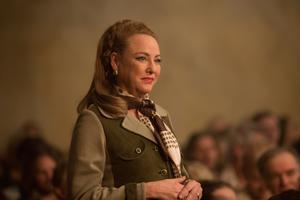 Comme Patrick Dempsey, Virginia Madsen a joué deux âges différents de son personnage.