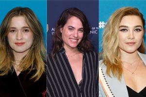 Alice Englert, Dar Zuzovsky et Florence Pugh (de gauche à droite) sont également pressentis pour le rôle.