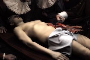 Représentation de la peinture de Rembrandt avec la réalité virtuelle
