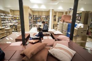 La librairie Ici, sur les Grands Boulevards (IIe).