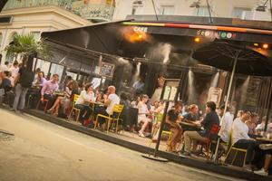 La terrasse Delaville Café (Xe).