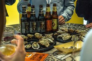 L'animation bières et huîtres déjà en place lors de Planète Bière 2018.