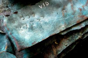Les plaques de cuivres portent des marques de la famille Fugger, de riches marchands ayant joué un rôle clef dans l'élection de Charles Quint.