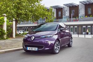 Le véhicule sélectionné est une Renault Zoé dotée de la finition Life (entrée de gamme).