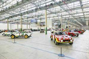 La catégorie «L'ère des rallyes» sera composée de nombreuses Lancia ayant marqué l'histoire de cette discipline.
