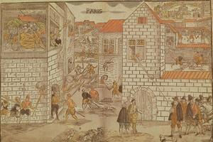 Massacre de la Saint-Barthélemy du 24 août 1572.