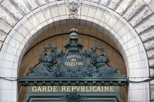 Caserne des Célestins.