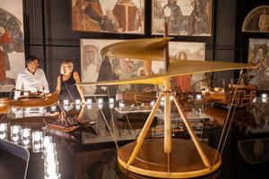 Le Musée national de la science et de la technologie Léonard de Vinci.