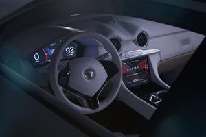 L'intérieur de la Karma Pininfarina GT.