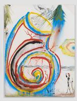 «Coquillage» (Caracol de mar), gouache et encre sur carton de 1976, estimé entre 30.000 et 40.000 euros.