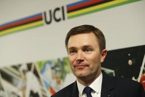 David Lappartient, le président de l'UCI.
