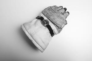 Cette montre ayant appartenu à Ron Evans lors de la mission Apollo 17 est exposée en ce moment au Grand Palais, à Paris.