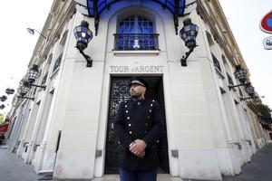 L'entrée de l'établissement parisien fondé au XVI <sup>e</sup> siècle.