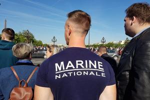 Alexis, ancien membre de la marine nationale admire les valeurs des forces spéciales.