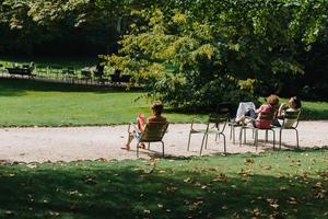 Le Jardin du Luxembourg (VIe).