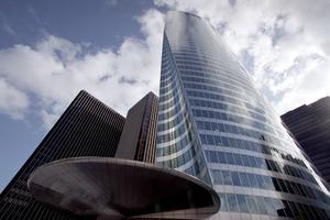 La Tour EDF à la Défense, inaugurée en 2002, est le second monument imaginé par Pei en France.