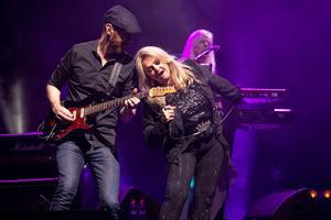 Bonnie Tyler a réussi son retour dans l'Hexagone.