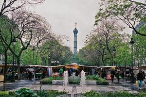 Le marché Bastille.