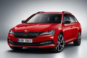 La Skoda Superb Combi (Break) Sportline.