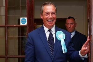 Nigel Farage, leader de l'UKIP puis du Brexit Party, a écrasé les conservateurs aux européennes.