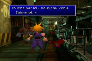 Final Fantasy VII sur PlayStation 1