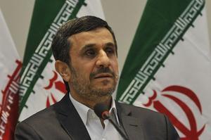 Le président Mahmoud Ahmadinejad.