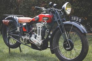 Une Gnome-Rhöne 500 D4 de 1930 estimée entre 7 000 et 8 500 €.