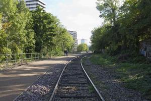 Chemin de fer de la petite ceinture.