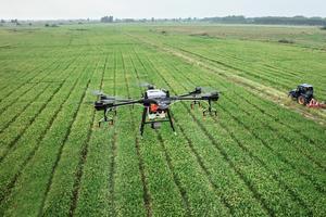 Un drone agricole.