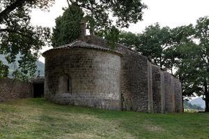La chapelle Notre-Dame du Revest, à Esparon-de-Pallières.