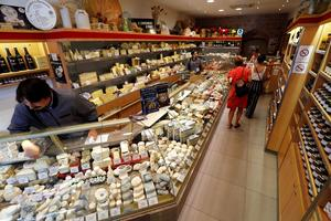 Fromagerie Boursault.