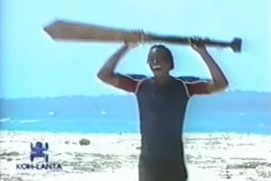 Moussa dans «Koh-Lanta» en 2003