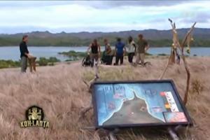«Koh-Lanta, le choc des héros» en 2010