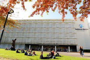 A Audencia, les étudiants profitent d'un campus ultra moderne.