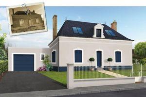 Avant apr s la formidable transformation d une maison vieillotte - Renovation maison annee 70 ...