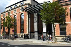 Créée en 2007, l'EM Strasbourg a un statut public-privé. ©Patrick Boger