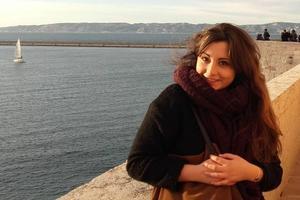 Nöellie Mariani, 22 ans, est étudiante en Master 2 MEEF à l'université Lumière Lyon 2.
