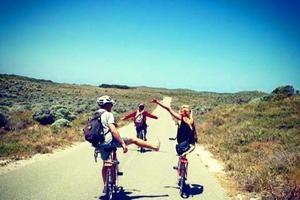 En van, en voiture ou à vélo, Constance a passé une année à découvrir l'Australie.©Coralie Gld