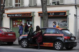 Située près de la porte d'Italie, OER permet à ses élèves de ne pas passer de temps dans les embouteillages. © Sébastien SORIANO / Le Figaro