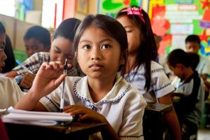 L'association Enfants du Mékong aide à la scolarisation de 60 000 jeunes d'Asie du Sud-Est © Antoine Besson/Enfants du Mékong