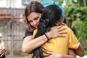 «Il n'y a plus de faux-semblant, plus de masque dans les relations humaines» précise Stéphane Saunier de l'association Enfants du Mékong. ©Antoine Besson / Enfants du Mékong