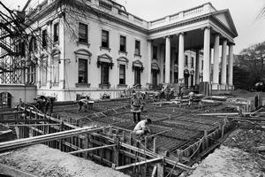 Renovation of the White House 1950