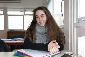 Maud Giacometti se sent plus en confiance depuis qu'elle a rejoint Montessori il y a un an et demi. © Louis Heidsieck