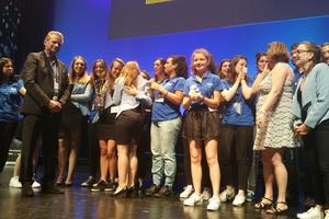 Les étudiants de l'EBI ont également remporté le prix du meilleur stand! ©Marine Dessaux