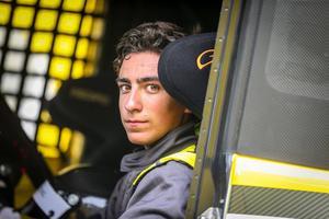 À 16 ans, Louis Méric est le plus jeune pilote de camions. Cc LM